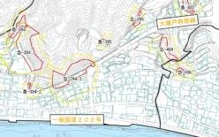 基礎調査(微地形調査及び区域設定)業務委託(西海市大瀬戸町)